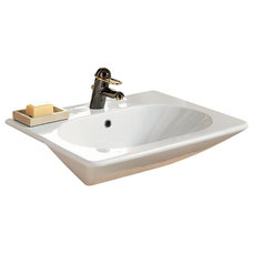 contemporary bathroom sinks by porcher-us.com