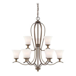 Quoizel Lighting - Quoizel SPH5009 Sophia 9 Light Chandelier - 9, 100W A19 Medium