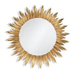 Jonathan Charles - New Jonathan Charles Large Mirror Sunburst - Product Details