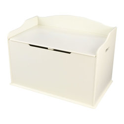 KidKraft - Austin Toy Box - Vanilla by Kidkraft - Our Austin Toy Box lets kids keep all of their favorite toys in one convenient place. This sturdy toy box was built to last and would fit right in with any room setting.