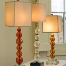 Contemporary Table Lamps by Fifi B. Laughlin