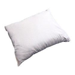 Bio Sleep Concept - Organic Cotton Medium Pillow, King - Amazing, hand crafted bed pillows. Our pillows are made exclusively using Natural Felt certified organic cotton, and manufactured in the State of Oregon. Our pillows come in three sizes. Standard (20x25) Queen (20x30) King (20x36) Our products bear the organic cotton logo.