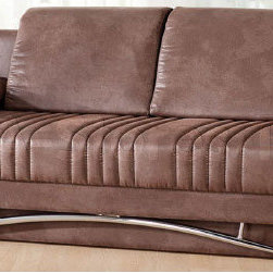 Fantasy Sofa Sleeper in Chocolate -