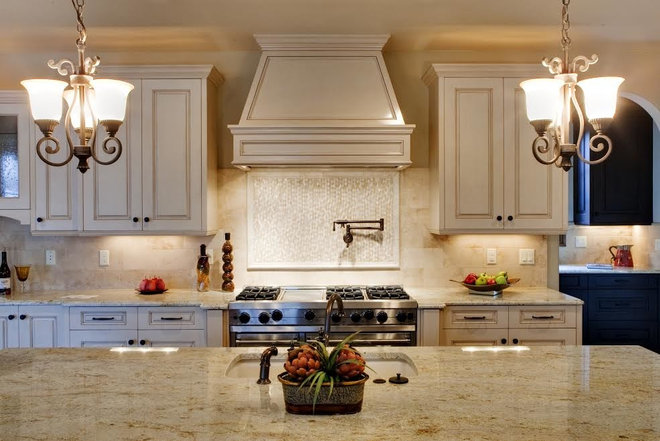 Traditional Kitchen Countertops by AAA Hellenic Marble