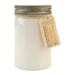 Sweet Cream Mason Jar Candle - Because we can't get enough of the charm of a vintage-inspired mason jar, you can see why we'd be obsessed with this one. But it's really what's inside the jar that counts: A lovely hand-poured soy wax candle with sweet cream and honey notes. So yummy.
