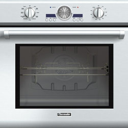 Thermador - 30 inch Professional Series Single Oven POD301J - Our 30-inch Single Ovens combine beauty and power to create the only truly professional-level built-in ovens available. With a generous 4.7 cubic feet of capacity and True Convection, you can cook virtually anything in style.