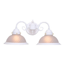 Design House - Design House 506824 Millbridge Traditional / Classic 2 Light Down Lighting Bathr - Design House Millbridge 2 Light Wall SconceThe Millbridge Collection Is Perfect For The Aesthetically Minded And The Cost Conscious.
