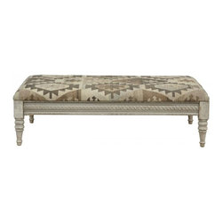 Classic Home Furniture - Remi Kilim Bench - 53007412ELP - Classic Home Furniture - Remi Kilim Bench - 53007412ELP