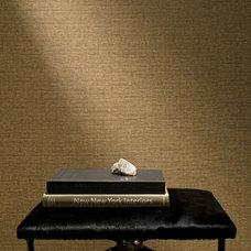 Contemporary Wallpaper by Maya Romanoff