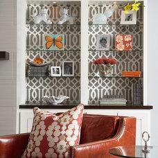 Home Office by Martha O'Hara Interiors Showroom