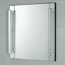 Robern - Reflexion Full Function Mirror - 30 Inch   Robern - Made in the United States by Robern.The 30 Inch Reflexion Full Function Mirror has a functional design that caters to your desire for superior quality. The high-tech mirrored glass comes standard with a premium glass defogger to provide a first class reflection while the integrated set of fluorescent lights ensures optimal lighting. Utilize the cutting edge componetry to update your modern bathroom with unwavering quality and timeless appeal. Product Features: