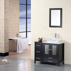 Design Elements - Design Element Arlington 36 in. Single Sink Vanity Set - Design Elements Arlington 36 in. Single Sink Vanity Set (DEC072A)