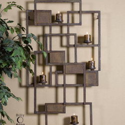 "13402 Siam Small, Candle Light Wall Sculpt by uttermost - Get 10% discount on your first order. Coupon code: ""houzz"". Order today."