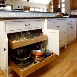 KITCHEN CABINET PULL-OUT TRAYS - Call us for an estimate!
