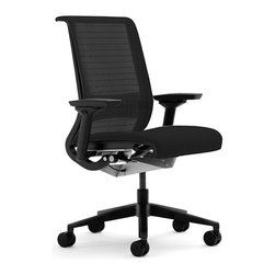Steelcase - Think Chair 3D in Black by Steelcase - Think Chair 3D by Steelcase