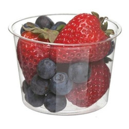 Eco-products Portion Cup - Plastic - 4 Oz - 100 Ct - Case Of 20 - Use these 4 oz. Portion Cups to serve cold samples, sides, souffles.