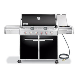 Weber - E-620 Summit Gas Grill, Sear Burner | Black |7421001 | NG - This item is a special order only and may take an additional 7-10 business days