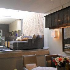 Contemporary Dining Room by Joseph Trojanowski Architect PC