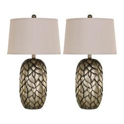 "Signature Design by Ashley - Signature Design by AshleySharalin 30"" Table Lamp Set L287904 - Sharalin 30"" Table Lamp Set L287904"