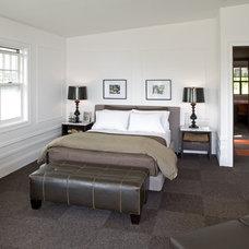 Eclectic Bedroom by Gelotte Hommas Architecture