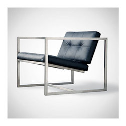 Gus Modern Delano Chair | Smart Furniture - The silhouette of the Delano Chair is striking and sure to make an impression.