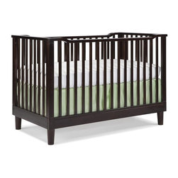 Storkcraft - 3-in-1 Fixed Side Convertible Crib - Espresso - Bedding and mattress not included. 3 in 1 crib that converts to toddler bed (toddler guard rail included) and a day bed.. Solid stationary sides offer security and stability . Three adjustable mattress support positions to accommodate your baby's growth. Made of solid wood and wood products with non-toxic finishes. Easy to assemble with permanently attached instructions. JPMA certified & PTPA approved. 1 year manufacturer's warranty. 56.5 in. L x 29.5 in. W x 37.2 in. H (61.73 lbs.). Crib Safety: ivgStores cares about the safety of the products we sell especially for your new little one. We work closely with our manufacturers and only carry those items which meet or exceed federal and state laws. If you are considering buying a new crib or even using a previously owned or heirloom crib, we recommend you visit  cribsafety.org to learn more about crib safety.