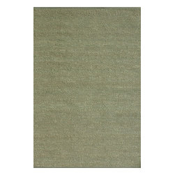 Loloi Rugs - Loloi Rugs Green Valley Green Transitional Hand Woven Rug X-0BA700RG10-VGEERG - Hand woven in India of seagrass and cotton, the Green Valley Collection breathes organic beauty in the floors of any home with these solid and striped designs. And with a raw textural surface, Green Valley adds a distinctly natural vibe to the room.