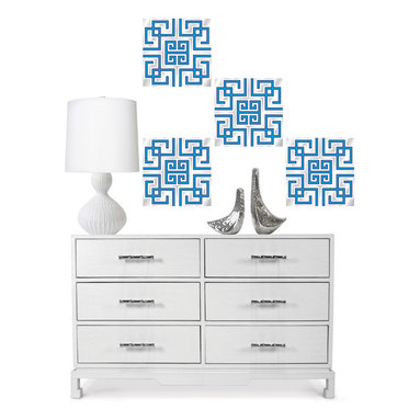 Carnaby Blox by Jonathan Adler for WallPops - Wall decals with a beautiful blue inspiration by Jonathan Adler for WallPops.