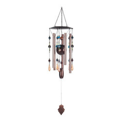 GSC - 31 Inch Bronze Hanging Tube Wind Chime - This gorgeous 31 Inch Bronze Hanging Tube Wind Chime has the finest details and highest quality you will find anywhere! 31 Inch Bronze Hanging Tube Wind Chime is truly remarkable.