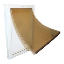 WOODSTREAM CORPORATION - 7120 Small Metal Dog Door - Features: