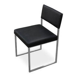 Modern Graph Dining Room Chair - Gus Modern Graph Dining Room Chair