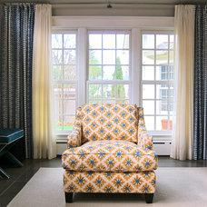 Contemporary Living Room by Stuart Nordin Design