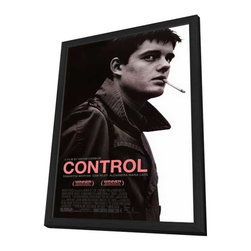 Control 11 x 17 Movie Poster - Style A - in Deluxe Wood Frame - Control 11 x 17 Movie Poster - Style A - in Deluxe Wood Frame.  Amazing movie poster, comes ready to hang, 11 x 17 inches poster size, and 13 x 19 inches in total size framed. Cast: Alexandra Maria Lara