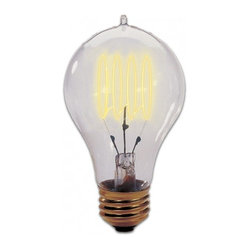 Bulbrite - Victorian Nostalgic Chandelier - If you're loving the Edison bulb craze, now's your chance to jump on the bandwagon. This Victorian-inspired lightbulb features a hairpin-style filament for a historically authentic look in your chandelier.