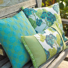 Traditional Outdoor Pillows by Horchow