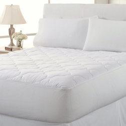 Perfect Fit - Perfect Fit 250TC Clean and Fresh WaterProof Mattress Pad Multicolor - 895-225-0 - Shop for Mattress Pads and Covers from Hayneedle.com! A smart addition to your mattress the Perfect Fit 250TC Clean and Fresh WaterProof Mattress Pad keeps things fresh. Not just waterproof this mattress pad also resists and repels stains and is machine-washable. It's stuffed with an ultra-thick fiber fill that's antimicrobial and odor-eliminating. The 250-thread count cotton top adds to the comfort and the laminate back adds to the waterproofing. The wavy diamond pattern quilting and size options make it perfect for you.Mattress Pad Dimensions:Twin: 38x75 in.Full: 54x75 in.Queen: 60x80 in.King: 78x80 in.