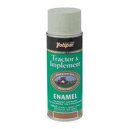 Valspar - Valspar Ford Gray Tractor and Implement Enamel Spray Paint, Grey (6-Pack) - Valspar 18-5339-13 SP Ford Gray Tractor & Implement Enamel Spray Paint, Grey