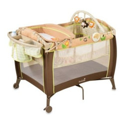 Summer Infant - Summer Infant Swingin Safari Grow with Me Playard and Changer - Designed to grow with your baby, the Summer Infant Swingin Safari Grow with Me Playard and Changer will easily adjust to their needs and development. Portable, roomy, and secure, it features a newborn changer, infant bassinet, and full-size playard.