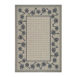 Safavieh - Polypropylene Rug (5 ft. x 2 ft. 7 in.) - Size: 5 ft. x 2 ft. 7 in. Transitional design. Synthetic fiber. Machine made weave. Power loomed construction. Coffee and black color. Made in Belgium. Safavieh takes classic beauty outside of the home with the launch of their Collection. These rugs are suitable for anywhere inside or outside of the house. To achieve more intricate and elaborate details in the designs, Safavieh used a specially-developed sisal weave. Care Instructions: Vacuum regularly. Brushless attachment is recommended. Avoid direct and continuous exposure to sunlight. Do not pull loose ends; clip them with scissors to remove. Remove spills immediately; blot with clean cloth by pressing firmly around the spill to absorb as much as possible. For hard-to-remove stains professional rug cleaning is recommended.