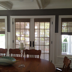 traditional dining room by ASAP Blinds