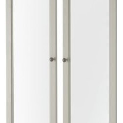 Carina Bengs - SMÅDAL Glass door - Glass door, white