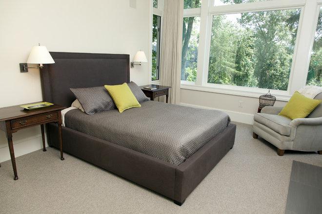 Modern Bedroom by Whitney Lyons
