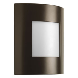 Progress Lighting - P5736-129 Progress Lighting - Progress Lighting P5736 Anson 1 Light ADA Wall Sconce One-light ADA wall lantern. This fixture can be used indoors or outdoors ,. This item by Progress Lighting is available in architectural bronze. For use with one 18-watt compact fluorescent bulb.