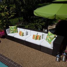 Modern Outdoor Umbrellas by CARAVITA USA Inc - Exclusive Sunshades