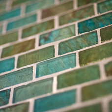 Contemporary Tile by Gary J Ahern, AIA - Focal Point Design