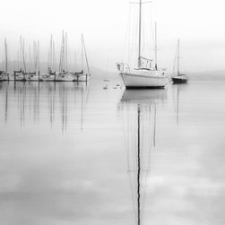 """Sailboats At Concord, 2013"" Artwork - Title: sailboats at concord, 2013 image size: 16 x 24 inches / print only / limited edition of 100 this is an archival pigment print made without a border on premium quality fine art paper with a matte finish. comes signed, dated, and numbered on the back with coa. ships flat via usps priority and is carefully packaged for safe delivery."