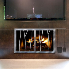 Contemporary Fireplaces by Girardini Design