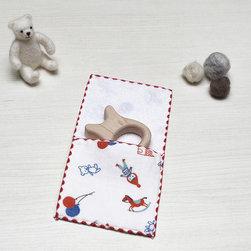 Baby - toys gauze pocket handkerchief