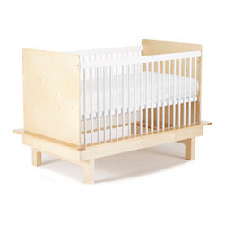 Argington Sahara Crib - The Sahara crib is a sleek, modern crib with a fixed rail construction. The mattress can be adjusted up to three positions. Crib is a perfect match with the changing table, as the platform of the crib integrates with a recess in the changing table, forming a compact, ergonomic configuration. Conforms to and exceeds all regulations set forth by ASTM, Consumer Product Safety Commission, and Health Canada.