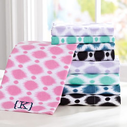 Ikat Dot Organic Sheet Set
